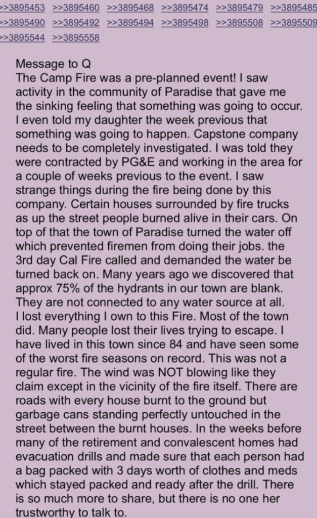 4chan ca wildfires 1