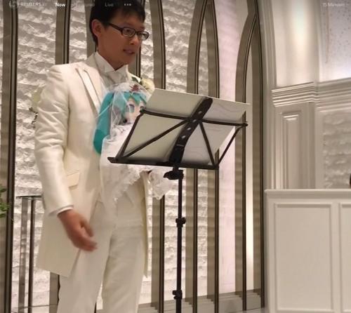 akihiko kondo wedding 1