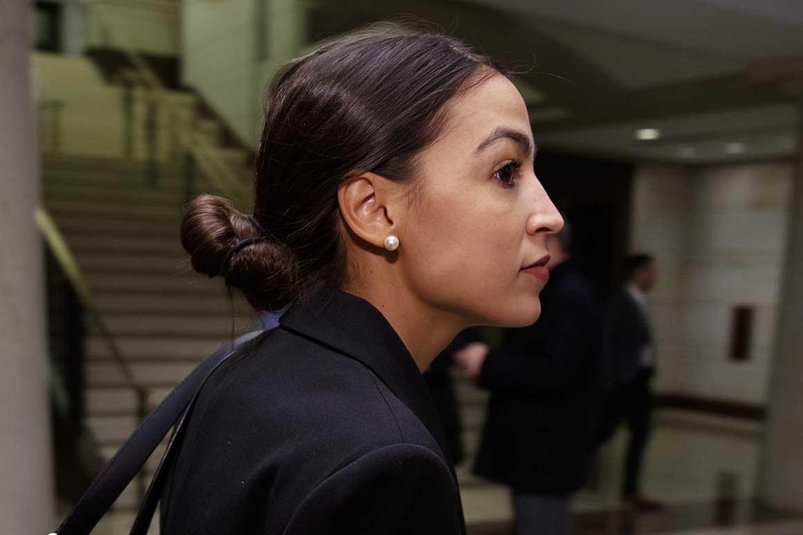alexandria ocasio-cortez finances lobbyists