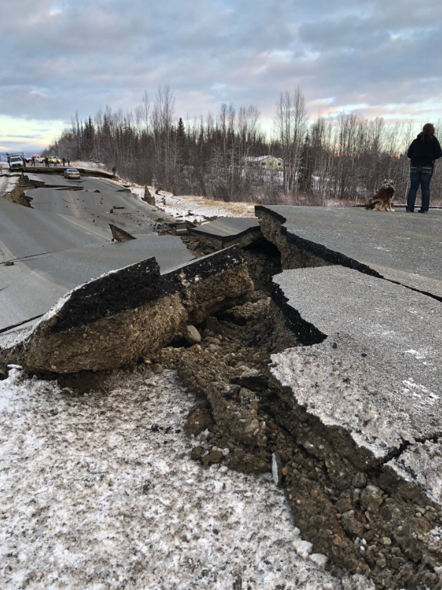 Anchorage Alaska Earthquake 1