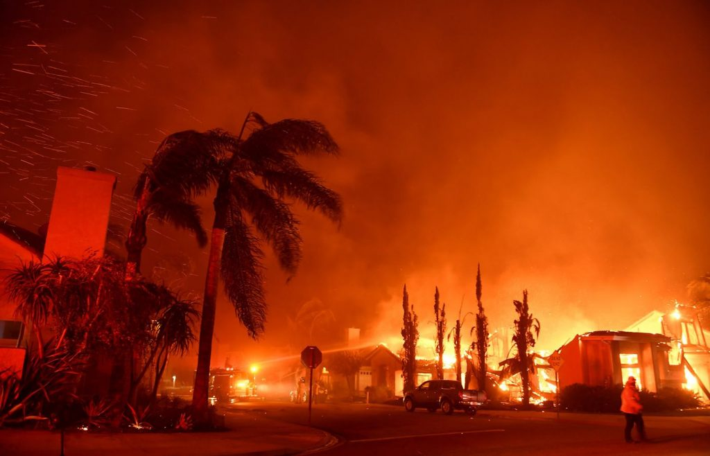 california wild fires predicted in february pacific gas and electric