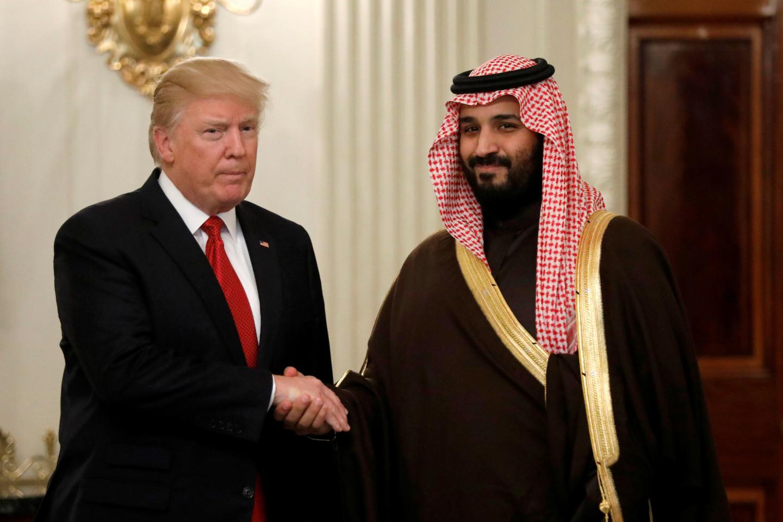 Donald Trump Mohammed bin Salman Saudi Arabia Deep State