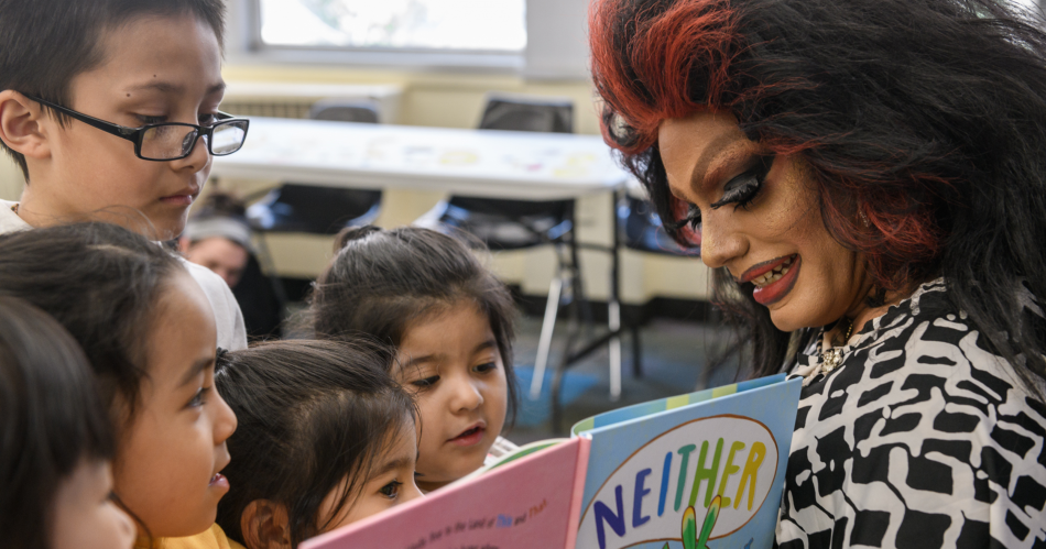 Drag Queen Admits Grooming Children LGBTQ Story Hour