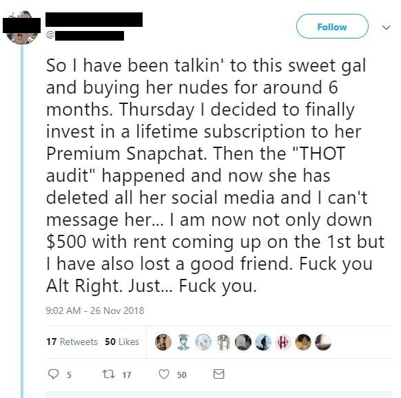 Internet Sex Worker Customer