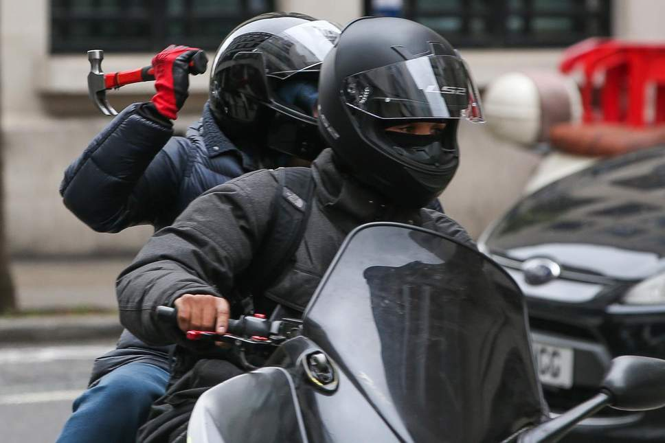 london moped criminals
