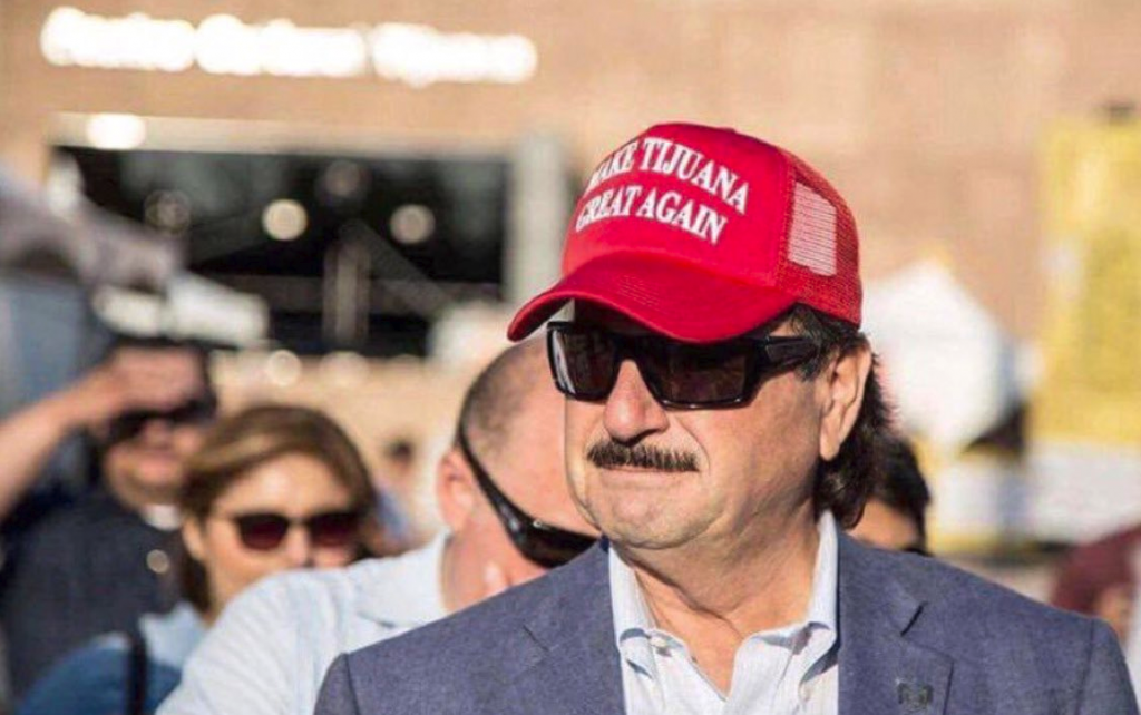 make tijuana great again migrant caravan