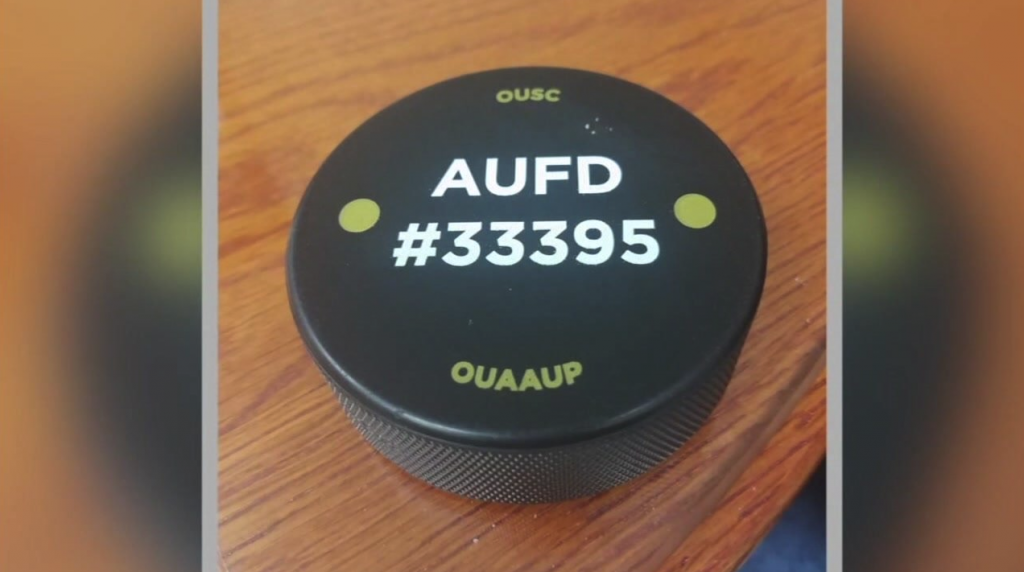 Michigan Oakland University Hockey Pucks Stop Active Shooter