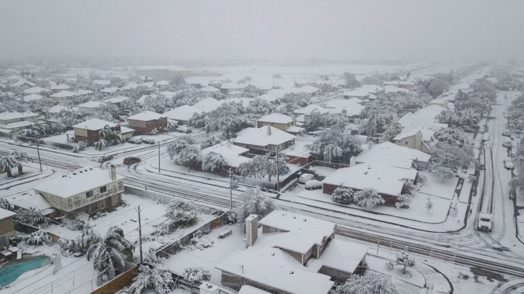 snow in houston texas