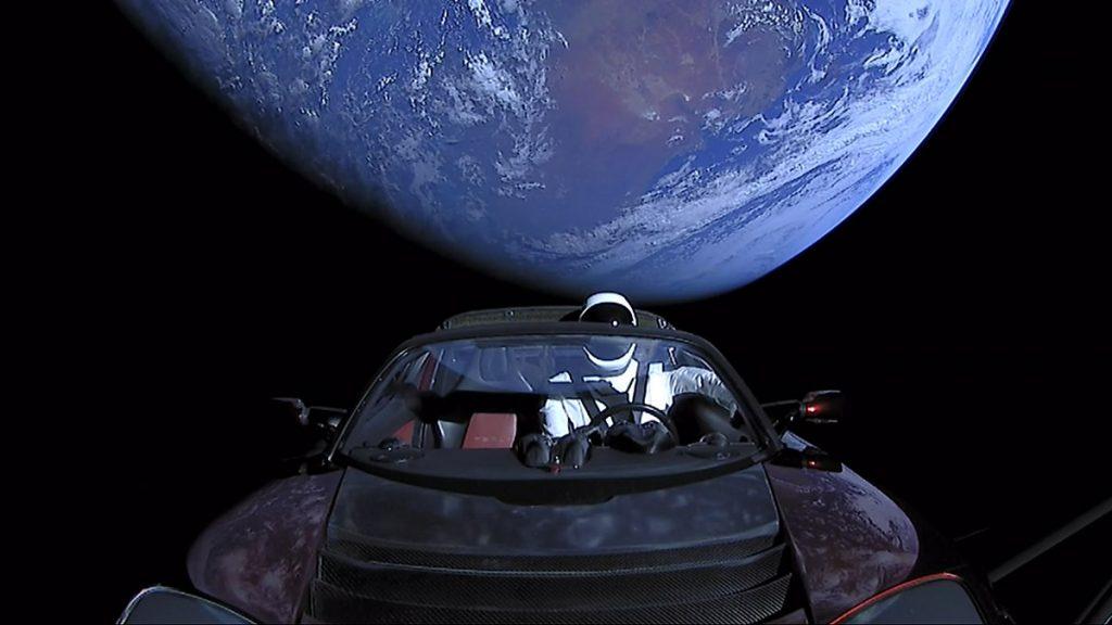 SpaceX Tesla Starman