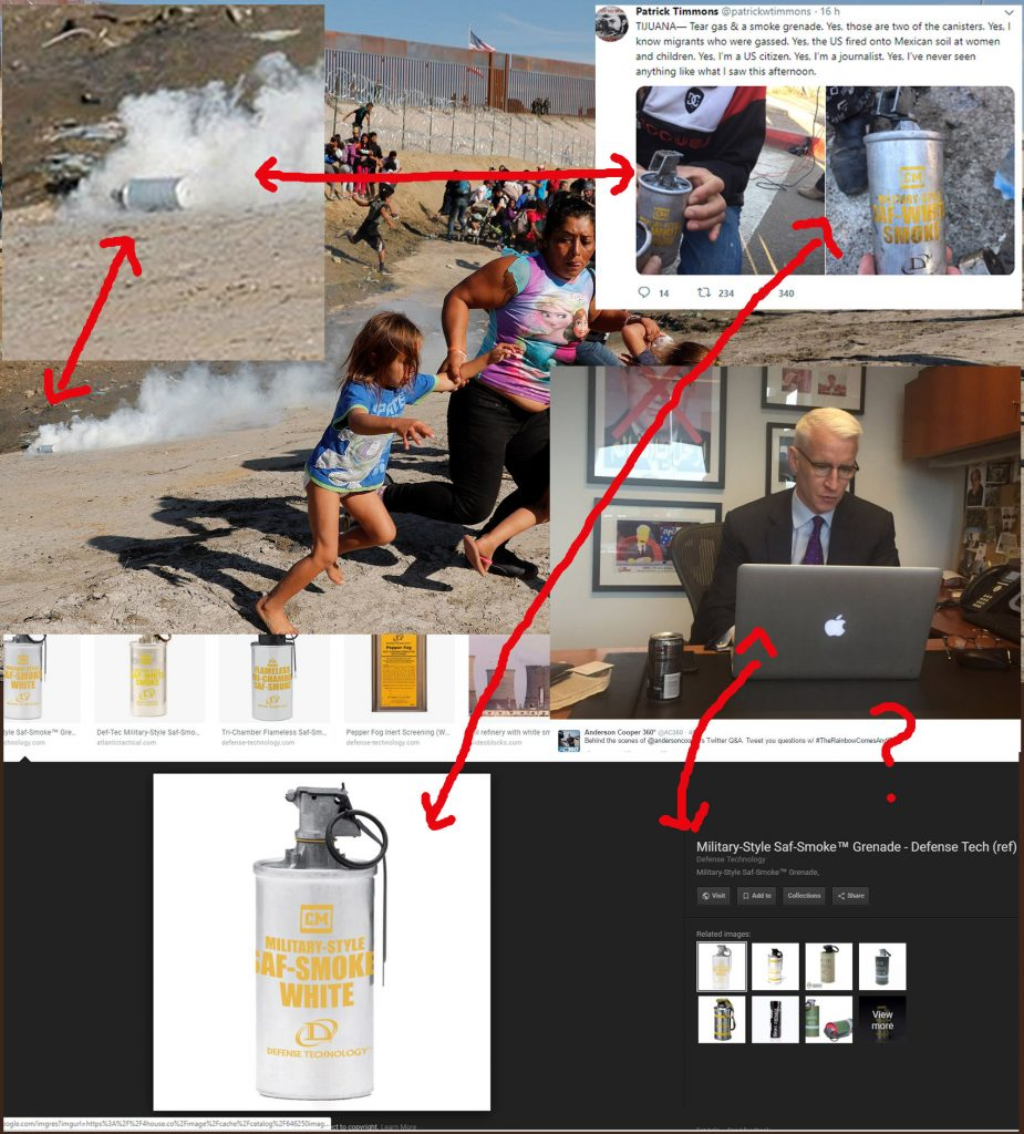 White Smoke Can Used In Migrant Photo