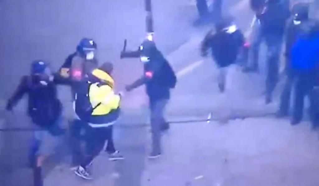 Antifa Yellow Vest Protests
