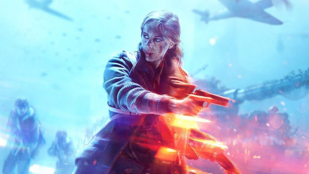Battlefield V Cover Woman
