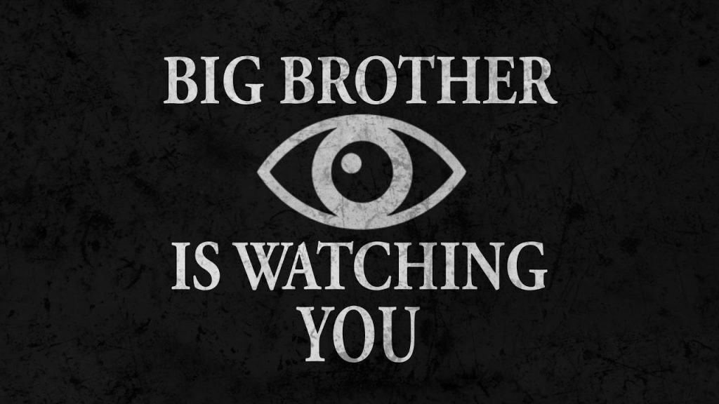 Big Brother Is Watching You Amazon Orwellian