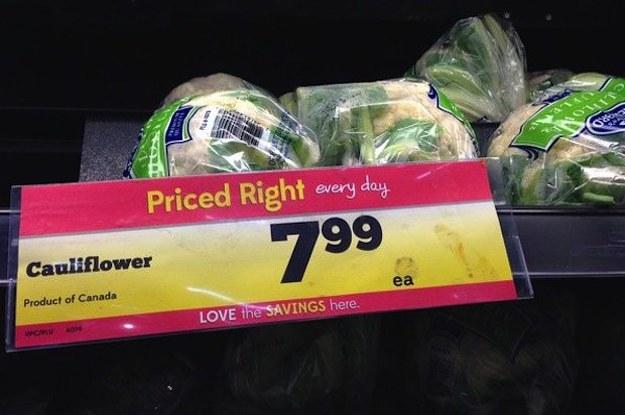 Canada Cauliflower Price