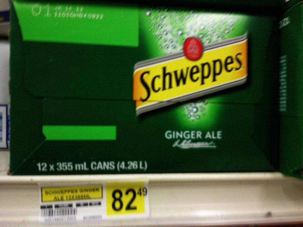 Canada Schweppes Price