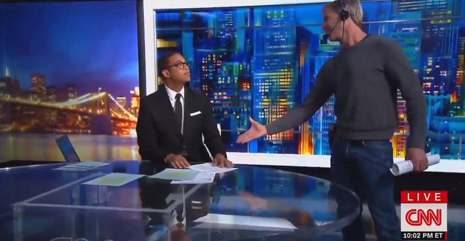 Don Lemon Chris Cuomo Petty And Small