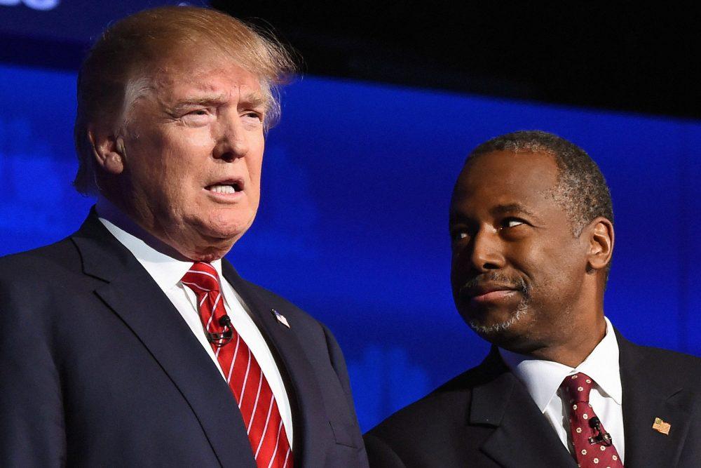 Donald Trump Ben Carson 100 Billion Black Communities