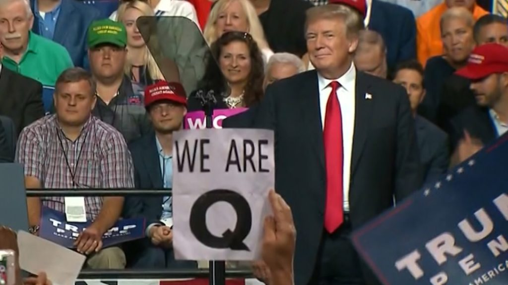 Donald Trump QAnon