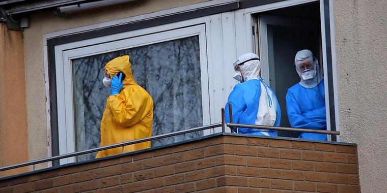 Ebola Verdacht In Mehrfamilienhaus In Hannover