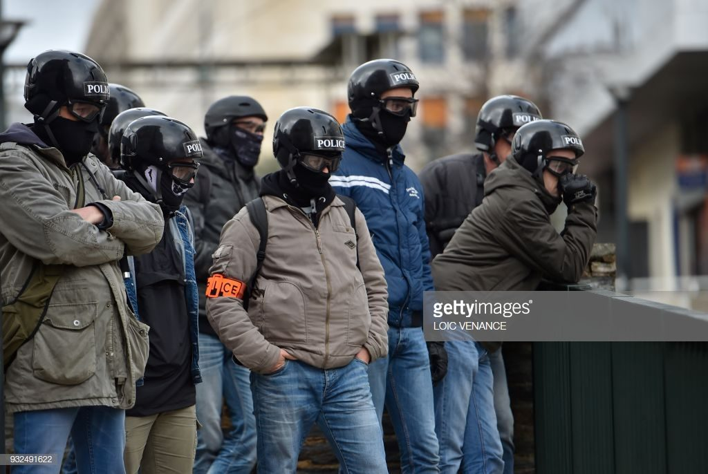 France Police Plain Clothes Armbands