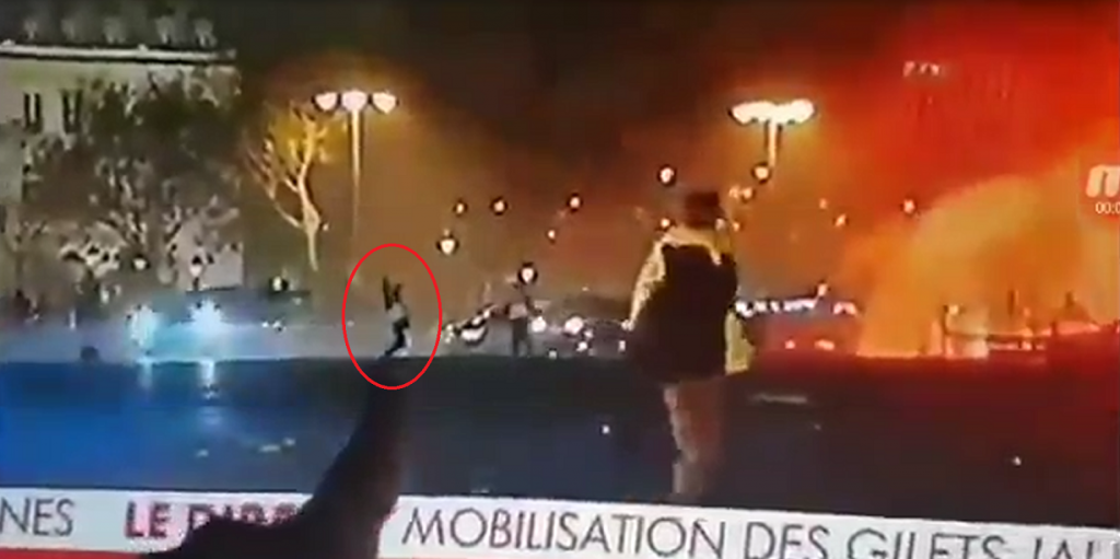 French Citizen Shot By Sniper 1