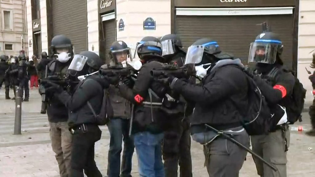 French Police Plain Clothes
