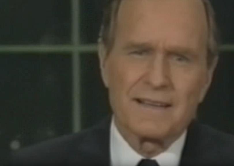 George H W Bush New World Order