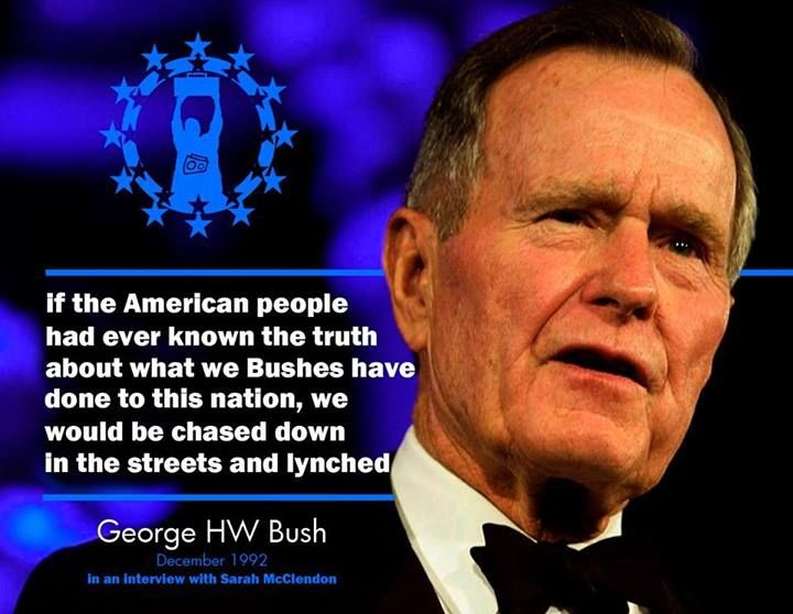 George H W Bush Quote