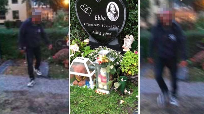Illegal Immigrant Vandalizes Victims Tomb Sweden