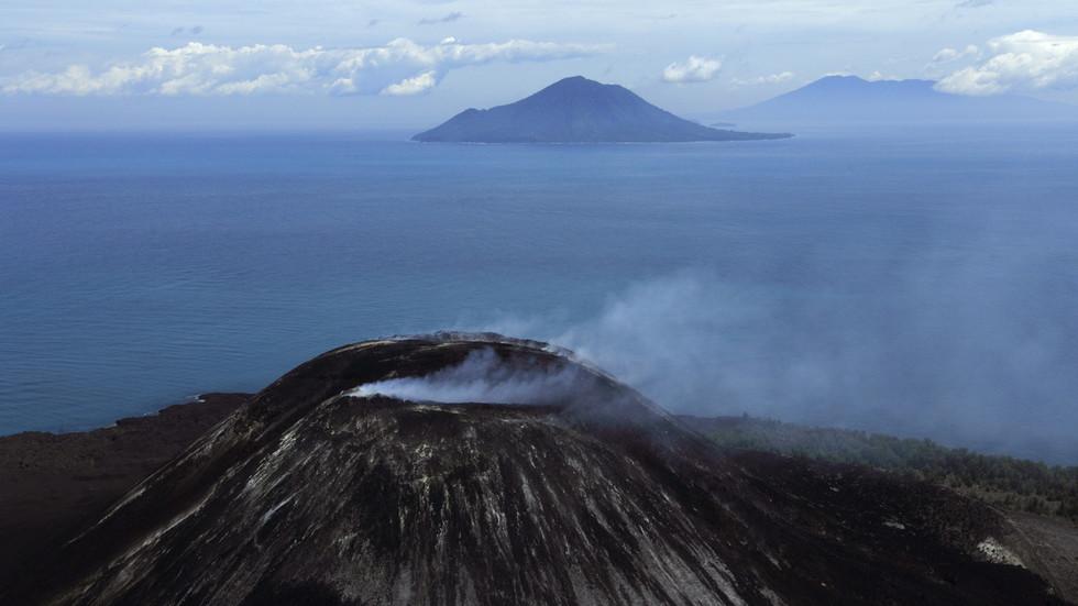 Krakatoa Volcano Indonesia Tsunami