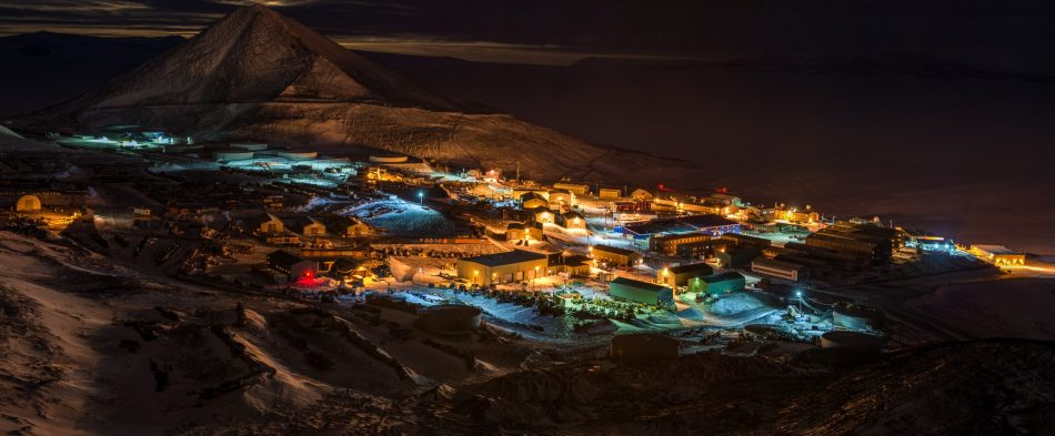 McMurdo Station Night