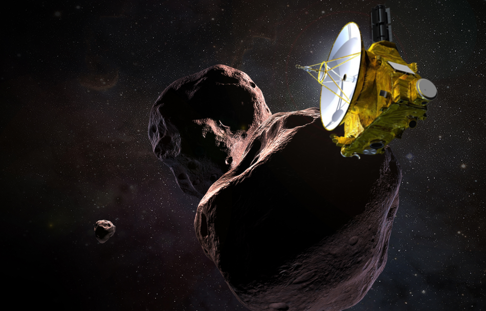 NASA New Horizons Spacecraft Kuiper Belt Objects