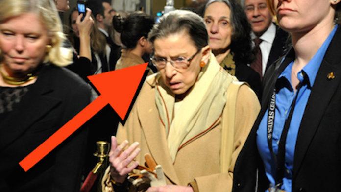 Ruth Bader Ginsburg Arrested