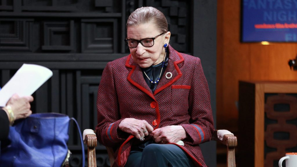 Ruth Bader Ginsburg Retiring