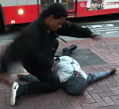 San Francisco Carl's Jr Fight