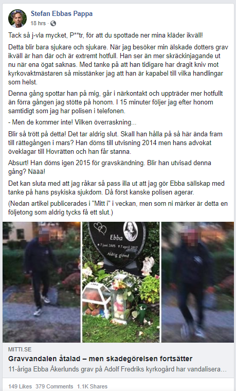 Stefan Ebbas Papa Facebook