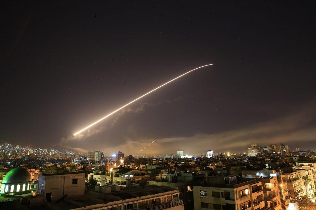 Syrian Air Defense Systems Damascus