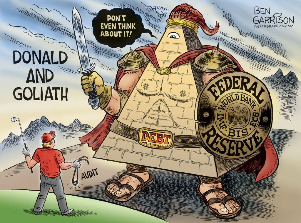Trump Hints At Ending Federal Reserve