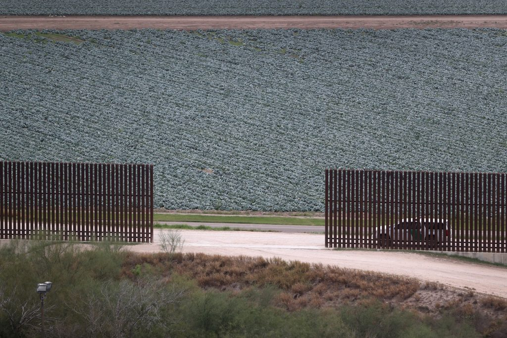 US Mexico Border Fence