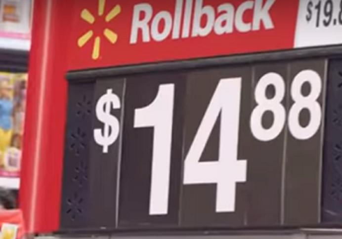 Walmart 1488 Price Tag
