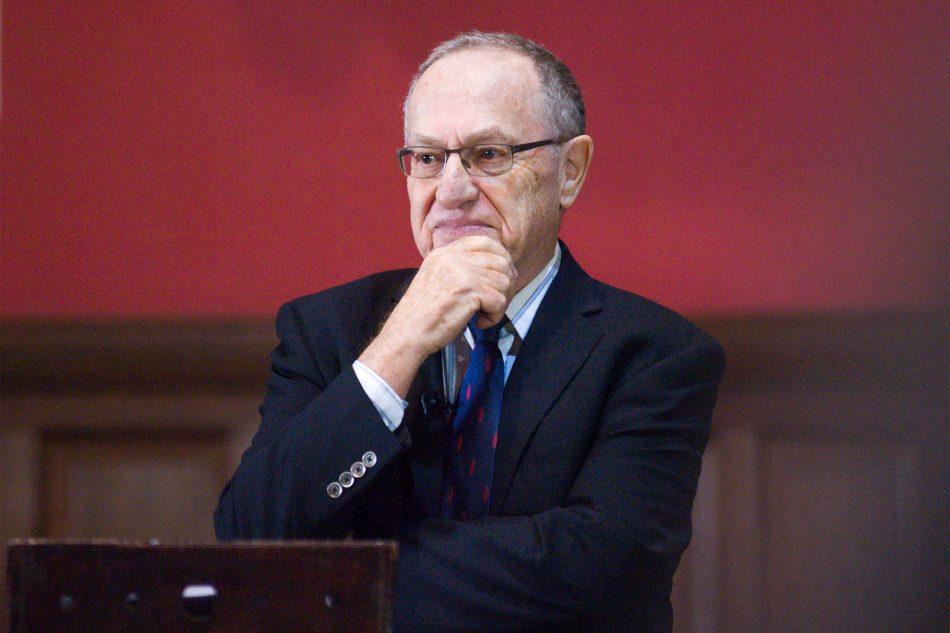 Alan Dershowitz Jeffrey Epstein