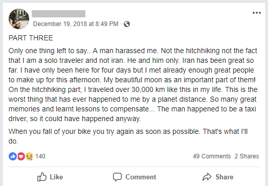 Assaulted In Iran 3