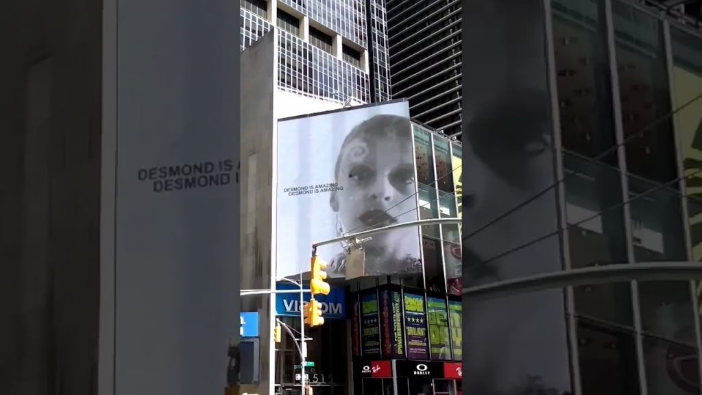 Desmond Is Amazing Billboard Spiral