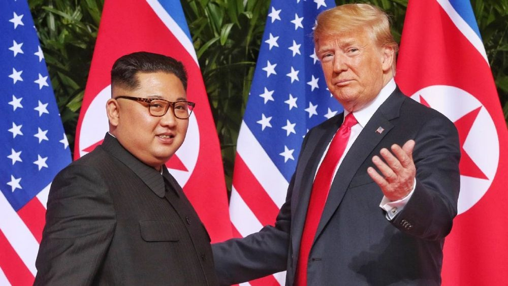 Donald Trump Kim Jong-Un Meeting February 2019