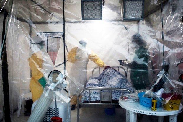 Ebola Sweden Uppsala University Hospital