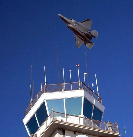 F-35 Buzzing Tower