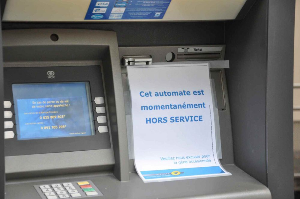 French ATM Notice