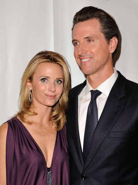 Gavin Newsome Jennifer Siebel Newsom