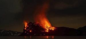 Jeffrey Epstein Little St James Island Fire