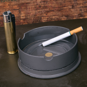 Lucky Shot 105MM Howitzer Cannon Round Ashtray